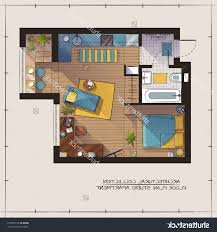 Color Floor Plan Home Design A Typical Floor Plan For Our Studio Apartments