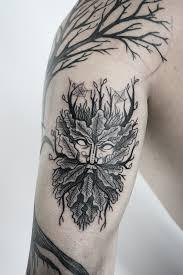 design tattoo hand green man tattoo design on behance black art pinterest men