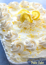 this oh so simple and delightful lemon burst poke cake is