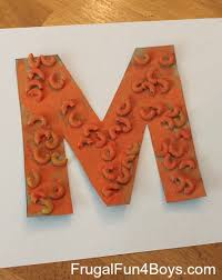 activities for learning the letter m