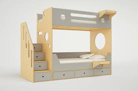 Bunk Bed With Stair Marino Bunk Bed With Stairs Casa