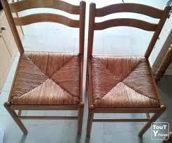 passe de cuisine chaise cuisine bois paille chaise cuisine bois paille daclicieux