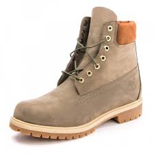 Timberland Classic 6 Inch Premium Canteen Mens Leather Boots 8 Uk