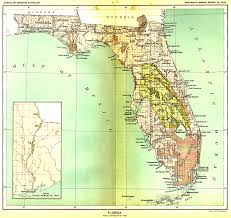 Indian River Florida Map by Indian Land Cessions Maps And Treaties In The American Southeast