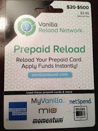 prepaid reloadable cards buying vanilla reloads with a credit card alternatives to cvs
