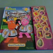 backyardigans play sound puzzle book sale
