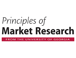 market research online course at the university of georgia
