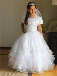 communion gowns taffeta organza communion dress w matching bolero