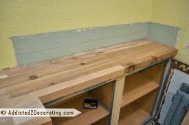 Diy Wood Kitchen Countertops How To Build Wood Kitchen Countertops Diy Blueprint Plans Download