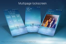 themes lock com miui theme classroom l31 how to create multipage lock screen