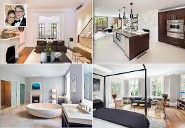 inside celebrity homes fashion designers house design plans