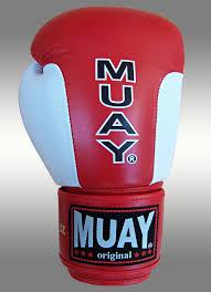 corde a sauter en cuir gants de boxe muay premium rouges blancs en cuir velcro la