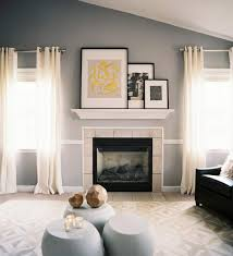 Cathedral Ceilings In Living Room How To Display Artwork Above Fireplace With Vaulted Or Cathedral