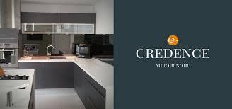 credence cuisine miroir verres et miroirs sur mesure pour la decoration interieure e