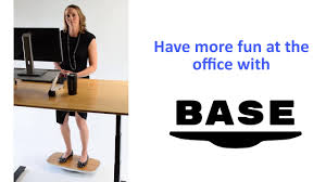 stay active at your desk with base a fun standing desk balance