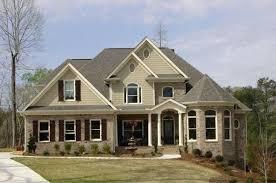 Home Design 1 1 2 Story Classic Colonial Home Designs Home Design