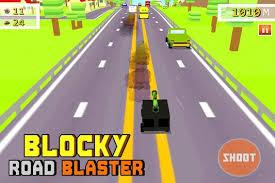 blocky roads version apk blocky road blaster gun race apk free racing for