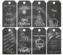 best printable christmas gift tags black and white ideas on