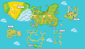 Sinnoh Map Anime Facts Compilation Part 18