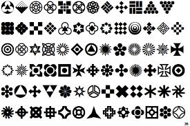 identifont geometric ornaments