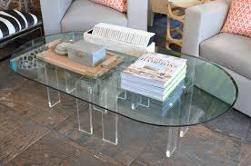 coffee tables mesmerizing acrylic trunk coffee table clear the