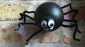 halloween spiders crafts how to make a halloween spider decoration halloween crafts