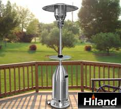 Outdoor Propane Patio Heater Outdoor Propane Patio Heaters Stainless Steel And Tabletop