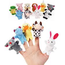 baby puppet leadingstar 10pcs biological animal finger puppet
