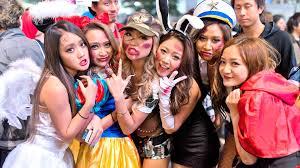 anime halloween night background japan halloween shibuya costume street party ハロウィン youtube