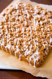 Best Pumpkin Cake Mix by Iced Pumpkin Coffee Cake Sallys Baking Addiction