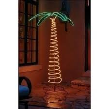 lighted outdoor palm trees wayfair