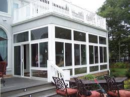 enclosed porches sunrooms vinyl patio enclosures screened in