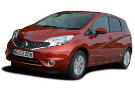 nissan red nissan note car to go