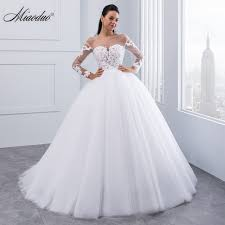 cheep wedding dresses miaoduo new arrival vestido de noiva appliques sleeve lace