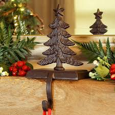 Christmas Tree Decorated With Stockings by Christmas Tree Stocking Holder By Dibor Notonthehighstreet Com