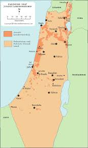 Egypt On Map Palestine Map