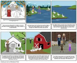 the children of lir storyboard by katefitzsimons