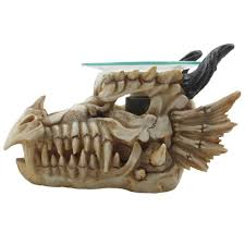 amazon com 1 x decorative snarling magical dragon skull electric
