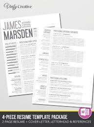Resume Microsoft Template 27 Best Professional Images On Pinterest Resume Templates Cover