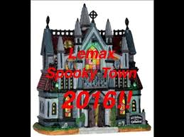 spooky town lemax spooky town 2016 revealed