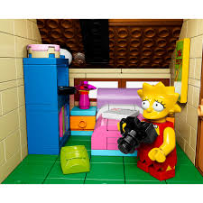 742 Evergreen Terrace Floor Plan Lego Simpsons House Pictures House Pictures