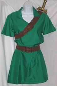Zelda Costumes Halloween Legend Zelda Kokiri Ocarina Hero