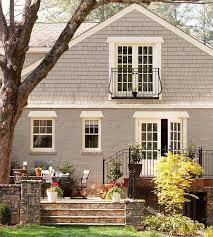 Small House Exterior Paint Schemes by Sherwin Williams Dovetail For The Exterior Of The House House