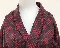 robe de chambre anglais peignoirs et robes de chambre pour hommes vintage etsy fr