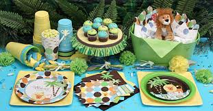 jungle baby shower table style for jungle baby shower ideas baby shower ideas gallery
