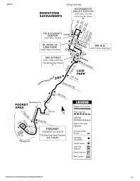 Sacramento Light Rail Map Promenade Sacramento