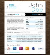 Unique Resume Samples by Modern Resume Templates 42 Free Psd Word Pdf Document Download