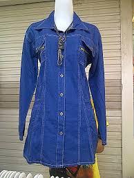 Baju Levis Biru levis dari elisashop di kemeja wanita produk grosir