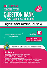 cbse cce question bank with complete solutions english