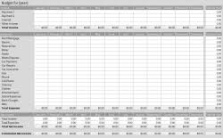 Personal Budget Spreadsheet Template Personal Budget Template Libreoffice Extensions And Templates
